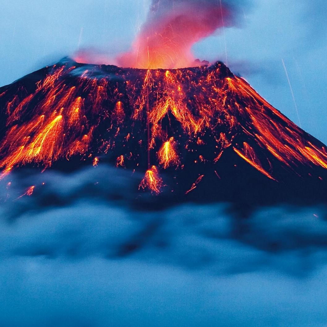 The Virus and the Volcano