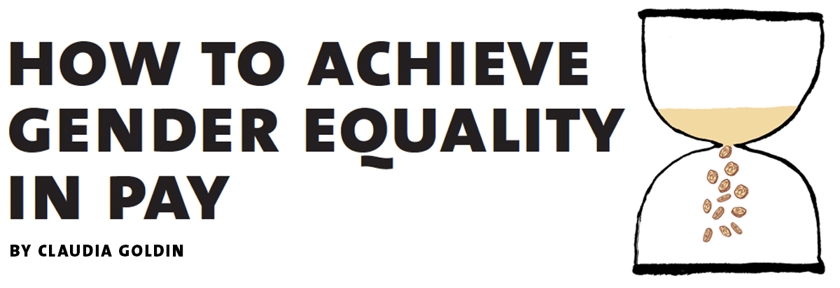 achieve gender equality in pay4